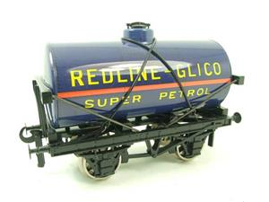 "Ace Trains O Gauge G1 Four Wheel ""Redline Glico"" Fuel Tanker Wagon image 2"
