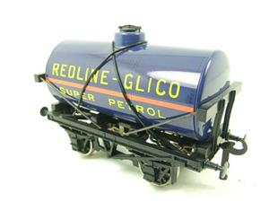 "Ace Trains O Gauge G1 Four Wheel ""Redline Glico"" Fuel Tanker Wagon image 3"