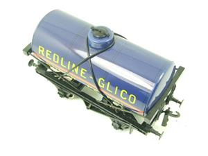 "Ace Trains O Gauge G1 Four Wheel ""Redline Glico"" Fuel Tanker Wagon image 6"