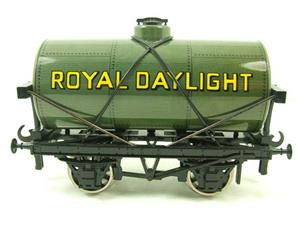"Ace Trains O Gauge G1 Four Wheel Grey ""Royal Daylight"" Fuel Tanker Wagon image 1"