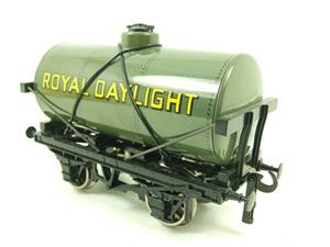 "Ace Trains O Gauge G1 Four Wheel Grey ""Royal Daylight"" Fuel Tanker Wagon image 2"