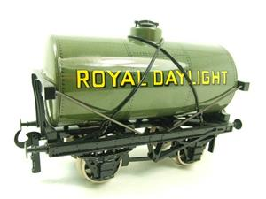 "Ace Trains O Gauge G1 Four Wheel Grey ""Royal Daylight"" Fuel Tanker Wagon image 3"