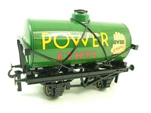 "Ace Trains O Gauge G1 Four Wheel ""Power Ethyl"" Fuel Tanker Wagon Tinplate image 2"