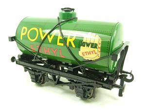 "Ace Trains O Gauge G1 Four Wheel ""Power Ethyl"" Fuel Tanker Wagon Tinplate image 3"