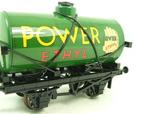 "Ace Trains O Gauge G1 Four Wheel ""Power Ethyl"" Fuel Tanker Wagon Tinplate image 4"