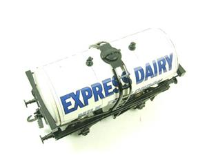 "Ace Trains O Gauge GM1 ""Express Dairy"" Milk Tanker Wagon image 6"