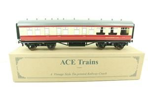 "Ace Trains O Gauge C5 BR ""The Elizabethan"" Restaurant Buffet Coach R/N E302 Boxed image 1"