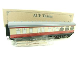 "Ace Trains O Gauge C5 BR ""The Elizabethan"" Restaurant Buffet Coach R/N E302 Boxed image 2"