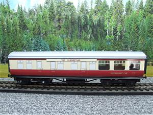 "Ace Trains O Gauge C5 BR ""The Elizabethan"" Restaurant Buffet Coach R/N E302 Boxed image 10"