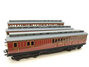Ace Trains O Gauge C1 LMS x3 Clerestory Roof Passenger Coaches Set Boxed image 6
