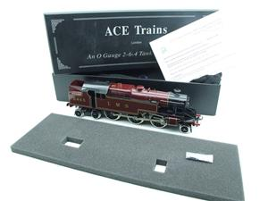 Ace Trains O Gauge E8 LMS Maroon Stanier Tank Loco R/N 2465 Electric 2/3 Rail Boxed image 2