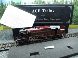 Ace Trains O Gauge E8 LMS Maroon Stanier Tank Loco R/N 2465 Electric 2/3 Rail Boxed image 3