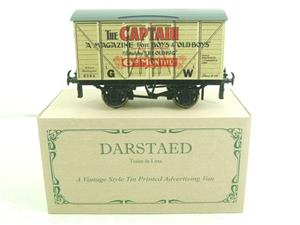 "Darstaed O Gauge GW ""Captain"" 4 Wheel Advertising Van R/N 8384 Brand New Boxed image 1"