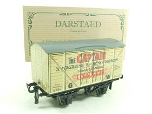 "Darstaed O Gauge GW ""Captain"" 4 Wheel Advertising Van R/N 8384 Brand New Boxed image 2"