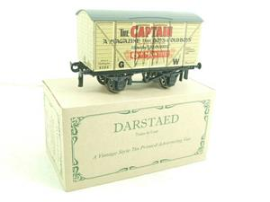 "Darstaed O Gauge GW ""Captain"" 4 Wheel Advertising Van R/N 8384 Brand New Boxed image 4"