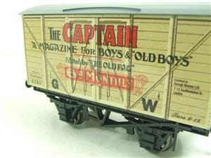 "Darstaed O Gauge GW ""Captain"" 4 Wheel Advertising Van R/N 8384 Brand New Boxed image 5"