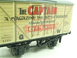 "Darstaed O Gauge GW ""Captain"" 4 Wheel Advertising Van R/N 8384 Brand New Boxed image 8"