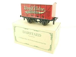 "Darstaed O Gauge LNWR ""Woodmilne"" Advertising Van R/N 6008 Boxed Ltd Edition image 4"