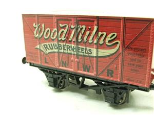 "Darstaed O Gauge LNWR ""Woodmilne"" Advertising Van R/N 6008 Boxed Ltd Edition image 6"