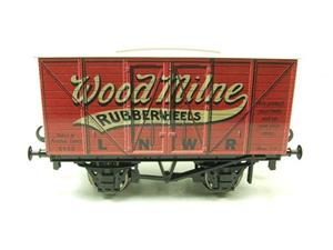 "Darstaed O Gauge LNWR ""Woodmilne"" Advertising Van R/N 6008 Boxed Ltd Edition image 7"