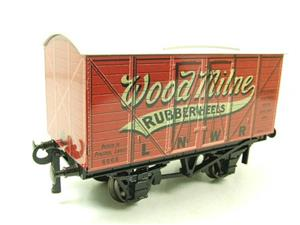 "Darstaed O Gauge LNWR ""Woodmilne"" Advertising Van R/N 6008 Boxed Ltd Edition image 10"
