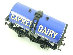 "ACE Trains - Darstaed O Gauge Blue ""Express Dairy Milk"" Tanker Wagon Boxed image 5"