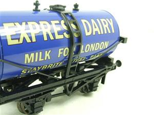 "ACE Trains - Darstaed O Gauge Blue ""Express Dairy Milk"" Tanker Wagon Boxed image 6"