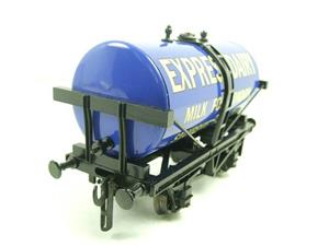 "ACE Trains - Darstaed O Gauge Blue ""Express Dairy Milk"" Tanker Wagon Boxed image 9"