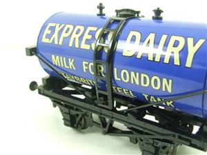 "ACE Trains - Darstaed O Gauge Blue ""Express Dairy Milk"" Tanker Wagon Boxed image 10"