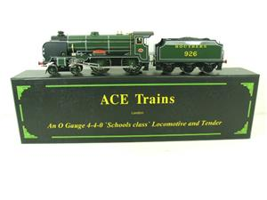 "Ace Trains O Gauge E10 SR Schools Class ""Repton"" R/N 926 Electric 2/3 Rail Boxed image 1"