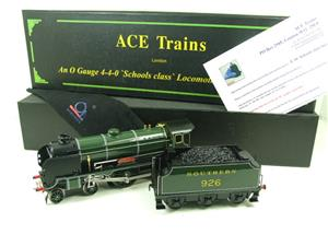"Ace Trains O Gauge E10 SR Schools Class ""Repton"" R/N 926 Electric 2/3 Rail Boxed image 3"