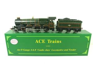 "Ace Trains O Gauge E7/2 BR Castle Class ""Clun Castle"" R/N 7029 Electric 2/3 Rail image 1"