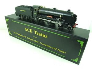 "Ace Trains O Gauge E10P SR Black Schools Class ""Westminster"" R/N 908 Electric 2/3 Rail Bxd image 1"