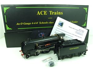 "Ace Trains O Gauge E10P SR Black Schools Class ""Westminster"" R/N 908 Electric 2/3 Rail Bxd image 2"
