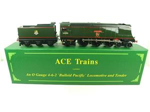 "Ace Trains O Gauge E9 Bulleid Pacific BR ""Exeter"" R/N 34001 Electric 2/3 Rail Bxd image 1"