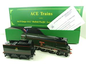 "Ace Trains O Gauge E9 Bulleid Pacific BR ""Exeter"" R/N 34001 Electric 2/3 Rail Bxd image 3"