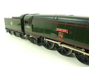 "Ace Trains O Gauge E9 Bulleid Pacific BR ""Exeter"" R/N 34001 Electric 2/3 Rail Bxd image 5"
