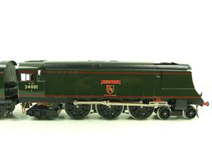 "Ace Trains O Gauge E9 Bulleid Pacific BR ""Exeter"" R/N 34001 Electric 2/3 Rail Bxd image 6"