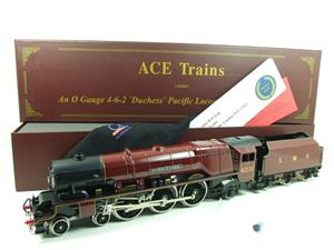 "Ace O Gauge E12D1 LMS Duchess Pacific ""Duchess of Atholl"" R/N 6231 Electric 2/3 Rail Bxd image 1"