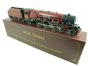 "Ace O Gauge E12D1 LMS Duchess Pacific ""Duchess of Atholl"" R/N 6231 Electric 2/3 Rail Bxd image 2"