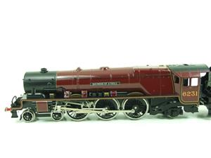 "Ace O Gauge E12D1 LMS Duchess Pacific ""Duchess of Atholl"" R/N 6231 Electric 2/3 Rail Bxd image 7"