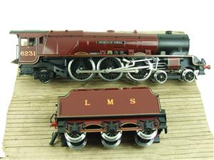 "Ace O Gauge E12D1 LMS Duchess Pacific ""Duchess of Atholl"" R/N 6231 Electric 2/3 Rail Bxd image 9"