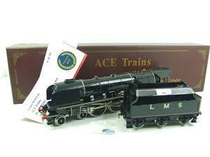 "Ace Trains O Gauge E12P LMS Duchess Pacific ""Sir William A Stanier FRS"" R/N 6256 Electric 2/3 Rail image 3"