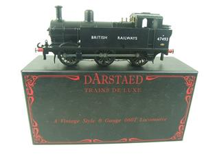 Darstaed O Gauge BR Unlined Black Class 3F Jinty Tank Loco R/N 47493 Bxd Electric 3 Rail image 1