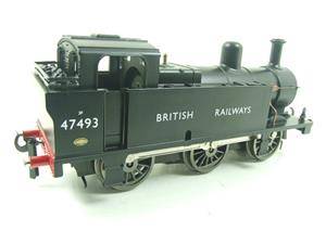 Darstaed O Gauge BR Unlined Black Class 3F Jinty Tank Loco R/N 47493 Bxd Electric 3 Rail image 6