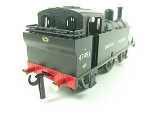 Darstaed O Gauge BR Unlined Black Class 3F Jinty Tank Loco R/N 47493 Bxd Electric 3 Rail image 8