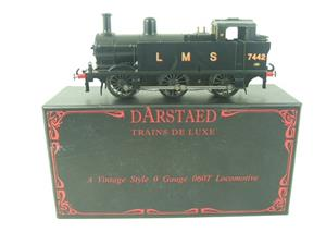 Darstaed O Gauge LMS Unlined Black Post War Class 3F Jinty Tank Loco R/N 7442 Bxd Electric 3 Rail image 1