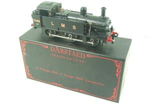 Darstaed O Gauge LMS Unlined Black Post War Class 3F Jinty Tank Loco R/N 7442 Bxd Electric 3 Rail image 2