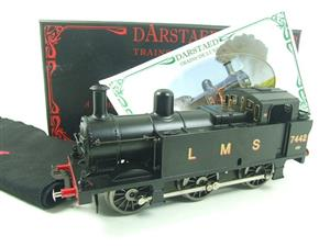 Darstaed O Gauge LMS Unlined Black Post War Class 3F Jinty Tank Loco R/N 7442 Bxd Electric 3 Rail image 3