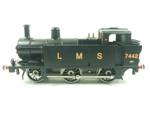 Darstaed O Gauge LMS Unlined Black Post War Class 3F Jinty Tank Loco R/N 7442 Bxd Electric 3 Rail image 5